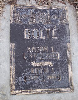 Ruth I. Bolte
