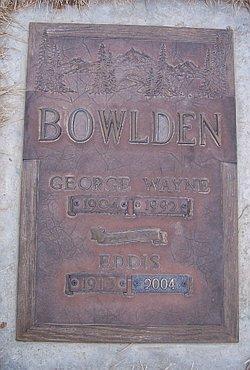 George Wayne Bowlden