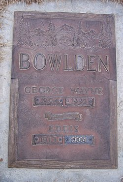 Eddis Bowlden