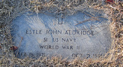 Estle John Aldridge