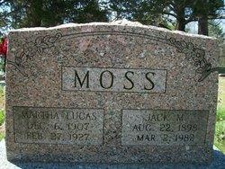 Martha <i>Lucas</i> Moss
