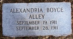 Alexandria Boyce Alley