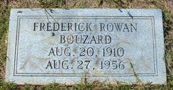 Frederick Rowan Bouzard