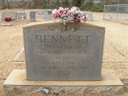 Bertha <i>Jones</i> Bennett