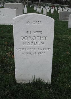 Dorothy <i>Hayden</i> Jennings