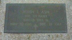 John Lewis Leroy Ash