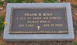 Frank R Bolf