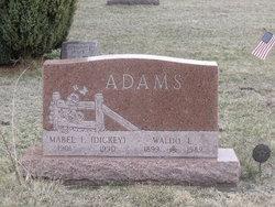 Mabel Fay <i>Dickey</i> Adams