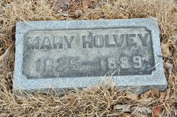 Mary Frances <i>Berriman</i> Holvey
