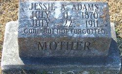 Jessie A. <i>Ogden</i> Adams