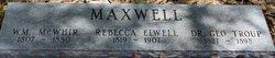 William McWhir Maxwell