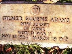 Pvt Gilmer Eugene Adams