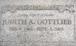 Judith Anne Judi <i>Irwin</i> Gottlieb