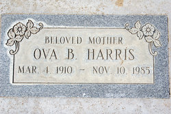 Ova Beatrice Obie <i>Kelley</i> Harris