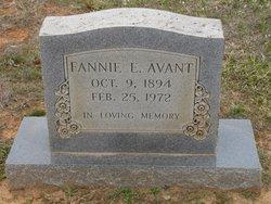Fannie E. <i>Barber</i> Avant