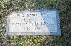 Hannah <i>Buckley</i> Bennett