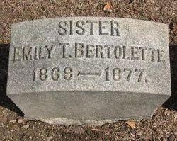 Emily T. Bertolette