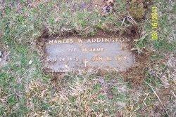 Charles W. Addington