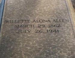 Willette Alona Allen