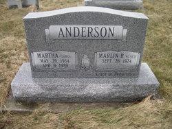 Martha <i>Sabol</i> Anderson