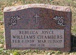 Rebecca Joyce <i>Williams</i> Chambers