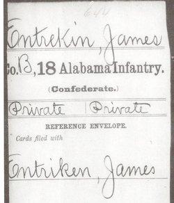 Pvt James M Entrekin