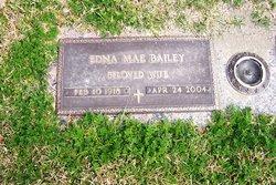 Edna Mae <i>Tanner</i> Bailey