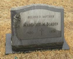 Margaret M Borden