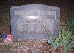Sgt Marvin Allen