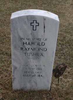 Lieut Harold Raymond Tushla
