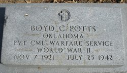 Boyd Wesley Potts