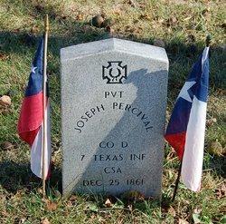 Pvt Joseph Percival