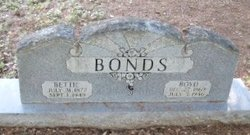 Frances Elizabeth Bettie <i>Staggers</i> Bonds