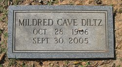 Mildred (Mimi) Wadsworth <i>Cave</i> Diltz