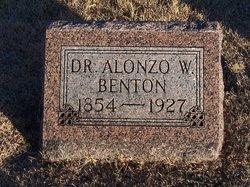 Dr Alonzo Wellington Benton