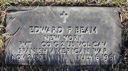 Edward F Beam