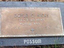 Doyle C Hicks