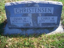 Emma M. <i>Petersen</i> Christensen