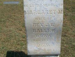 Margaret M <i>Page</i> Ballew