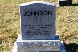 Martha Ann <i>Wolf</i> Johnson