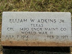 Elijah W Adkins, Jr
