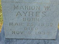 Marion Wilson Ayres