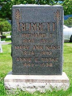 Mary Ann <i>Nuns</i> Berrett