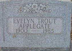 Evelyn <i>Trout</i> Applegate