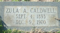 Zula A. <i>Currey</i> Caldwell