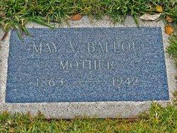 May Vashti <i>Wood</i> Ballou
