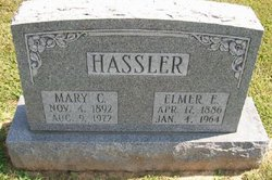 Mary C. <i>Barrett</i> Hassler
