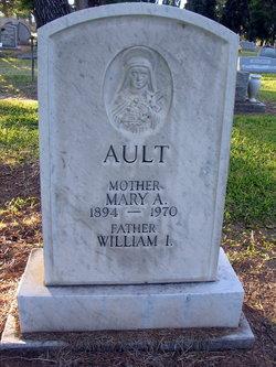 Mary A. <i>Hughes</i> Ault