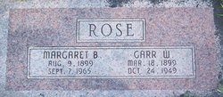Garr W Rose