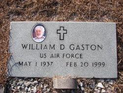 William D Gaston